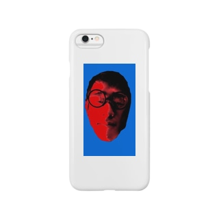 iPhoneケース/GINTA/ブルーレッド Smartphone cases
