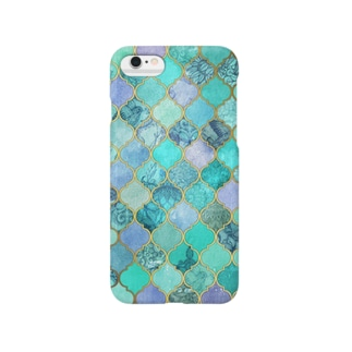 モロッカン緑 Smartphone cases
