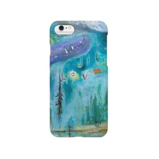 ムラナギ/ジキムの見える水辺 Smartphone cases