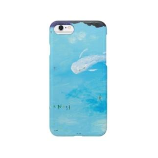 ムラナギ/水辺の朝 Smartphone cases