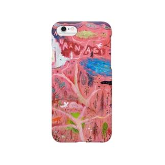 ムラナギ/森の地図 Smartphone cases