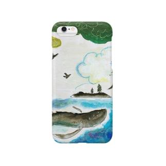 月ノ子の森に恋してのムラナギ/ジキムの見える夏 Smartphone cases