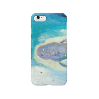月ノ子の森に恋してのムラナギ/ジキムの見える水辺 Smartphone cases