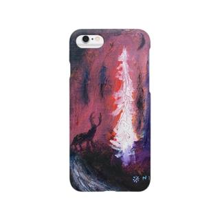 ムラナギ/夜の森 Smartphone cases