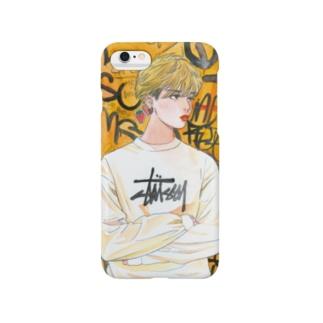 オレンジちゃん Smartphone cases