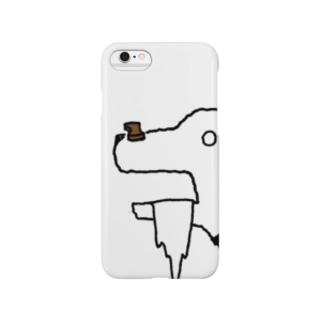 おあずけ犬 Smartphone cases
