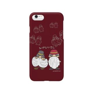 ひげじいさん Smartphone cases