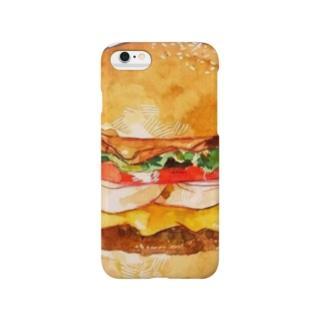 ハンバーガー Smartphone cases