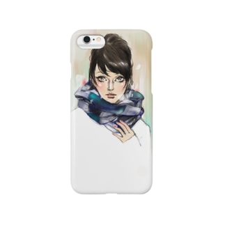 白い息 Smartphone cases