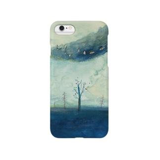 ムラナギ/二月のジキム Smartphone cases