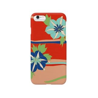 和やか花柄 Smartphone cases