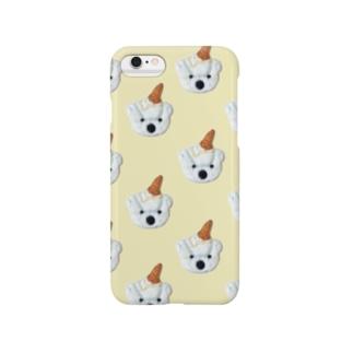 白くまアイスクリーム Smartphone cases