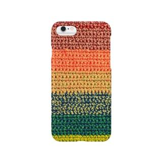 編み物 Smartphone cases