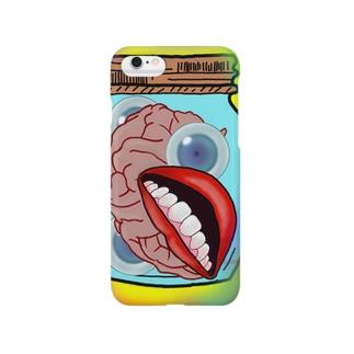 ひきこもりー Smartphone cases