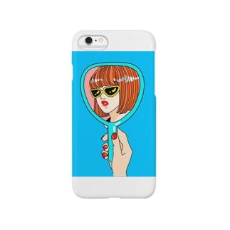 自分大好きな女の子 Smartphone cases