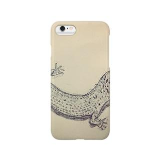 ヒョウモントカゲモドキ Smartphone cases