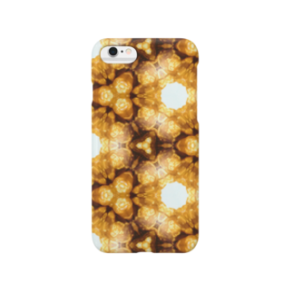 nizikuma-nokuのキャラメルポップ×万華鏡 Smartphone cases