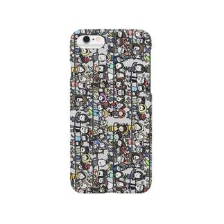じぶんさがし!絵しりとり列車Ver. Smartphone cases