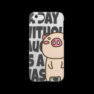 KINOKO88のぶたこ いじんのことば Smartphone cases