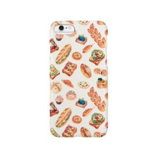 「パンたっぷり」 Smartphone cases