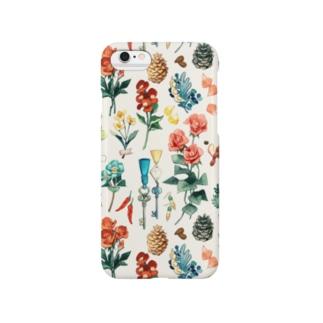 「花と細々」 Smartphone cases