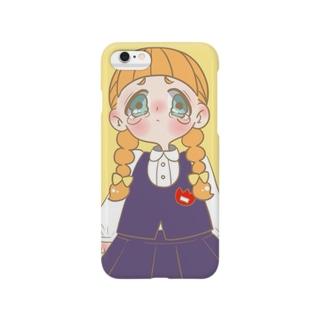 泣き虫ひなちゃん Smartphone cases