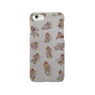 赤ちゃんあるあるデザイン Smartphone cases