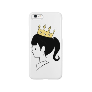 Crown girl Smartphone cases