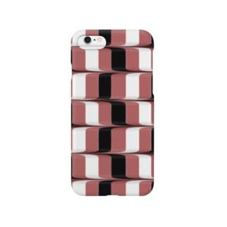三色市松流し Smartphone cases