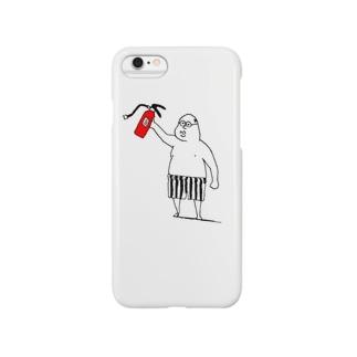 おっさんはヒーロー Smartphone cases