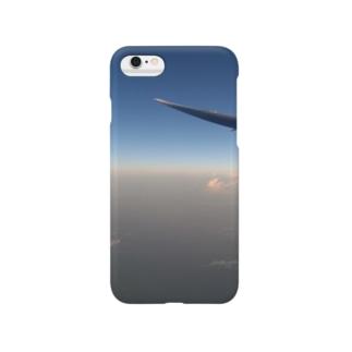 飛行機からの日の出 Smartphone cases