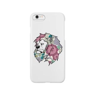 flower lion Smartphone cases
