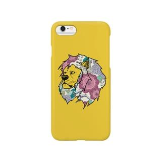 gold lion Smartphone cases