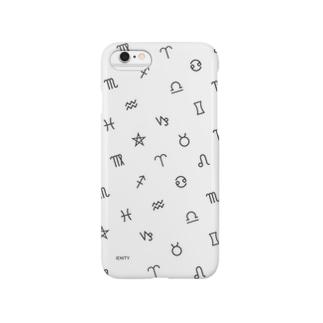 Astrological symbol #White スマートフォンケース