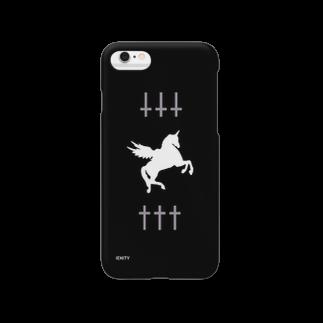 IENITY / MOON SIDEの✝✝✝ UNICORN ✝✝✝ #Black Smartphone cases