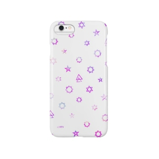 Geometric star #White Smartphone cases