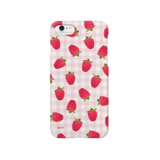Strawberry holic #Red Smartphone cases
