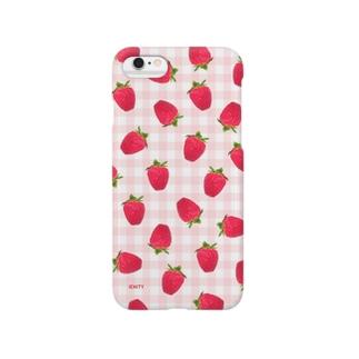 Strawberry holic #Red Smartphone Case