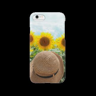 KI の麦わら少女とひまわり2 Smartphone cases