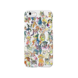 勢揃いドッグ Smartphone cases