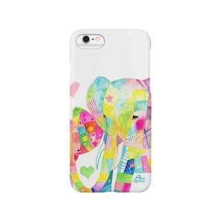 ゾウの親子 Smartphone cases