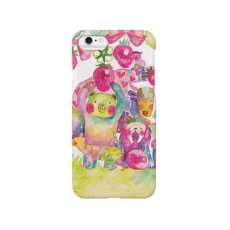 苺アニマル Smartphone cases
