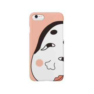 福笑いグッズ Smartphone cases