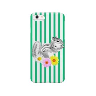 シマリス【NAYO-SMP-CHIPMUNK01】 Smartphone cases