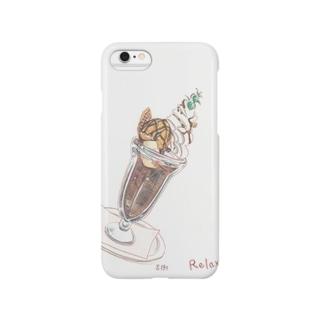 チョコパフェ Smartphone cases