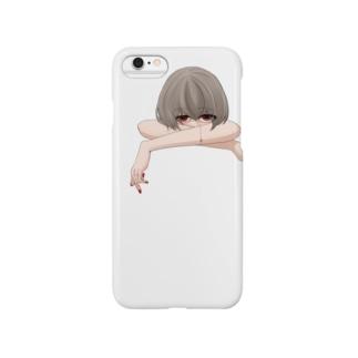 切り取り線 Smartphone cases
