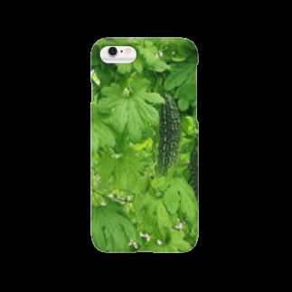 hrkのゴーヤー Smartphone cases