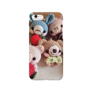 イチゴ動物あみぐるみバージョン Smartphone cases