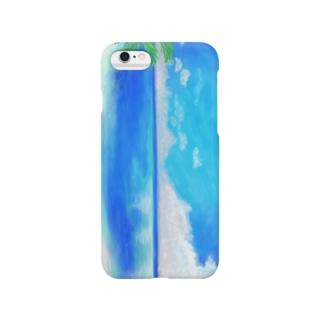 青い空  青い海 Smartphone cases