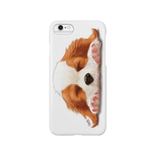 キャバリア№05 ブレンハイムパピー Smartphone cases